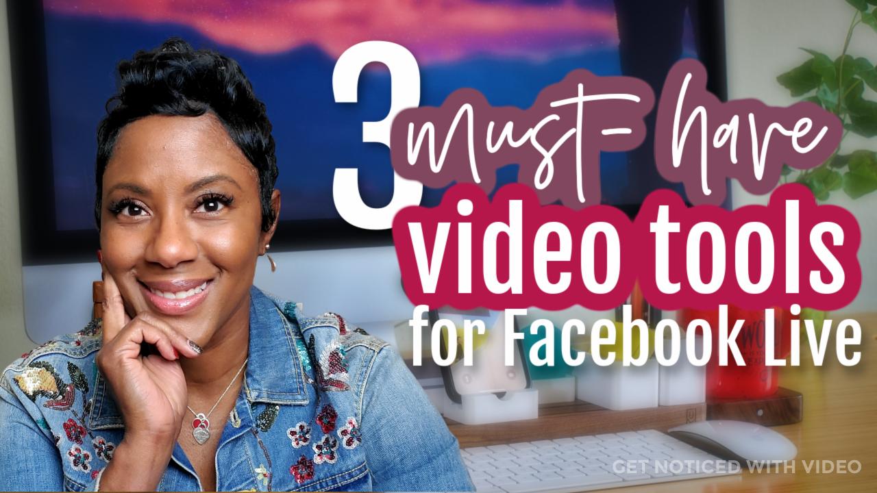 facebook live tools