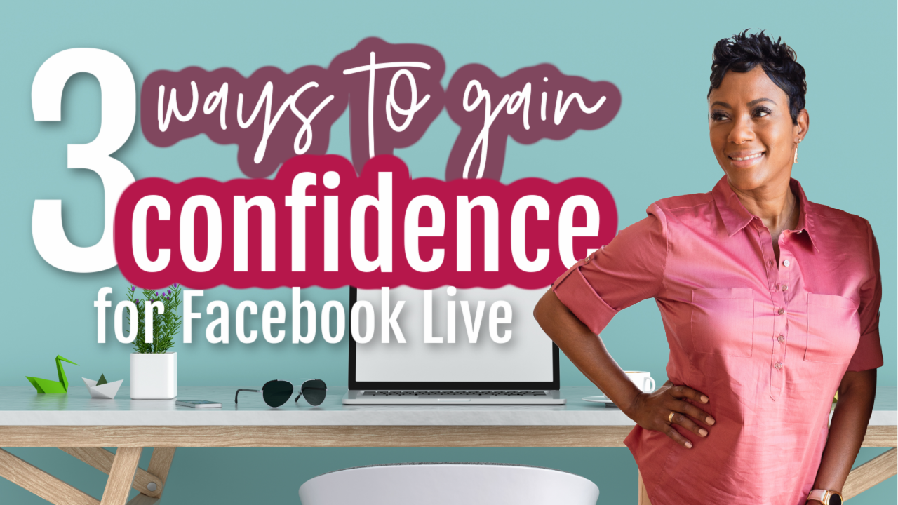 confidence on camera tips facebook live