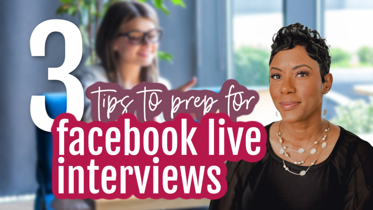 interview on facebook live